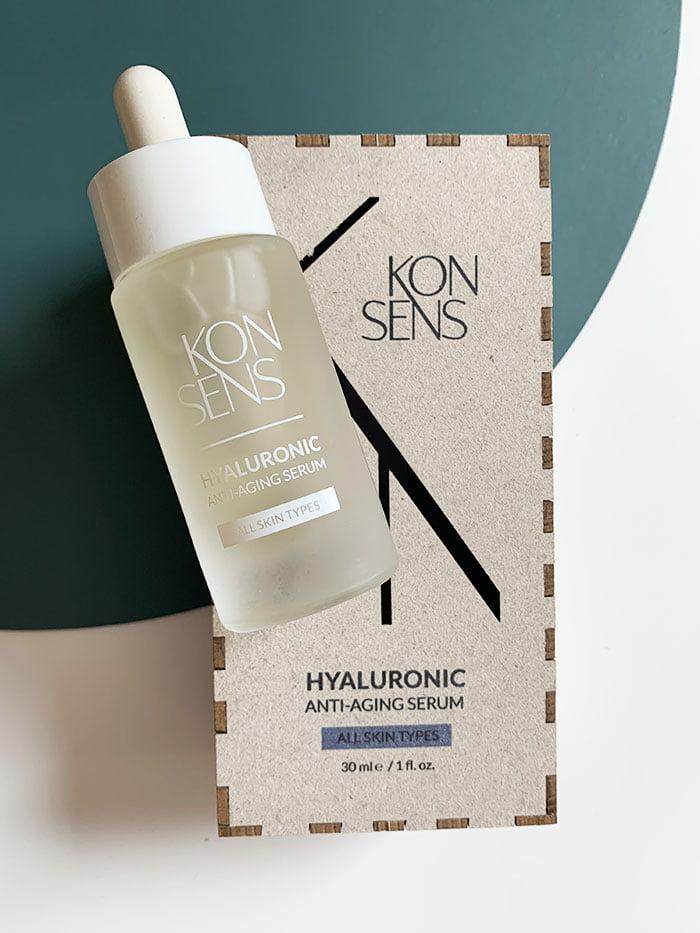 Konsens Hyaluronic Anti-Aging Serum for Combination Skin (Swissmade Seren, nachhaltig produziert) –Hey Pretty Beauty Blog Review und Verlosung