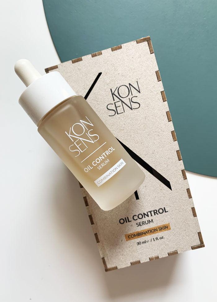 Konsens Oil Control Serum for Combination Skin (Swissmade Seren, nachhaltig produziert) –Hey Pretty Beauty Blog Review und Verlosung