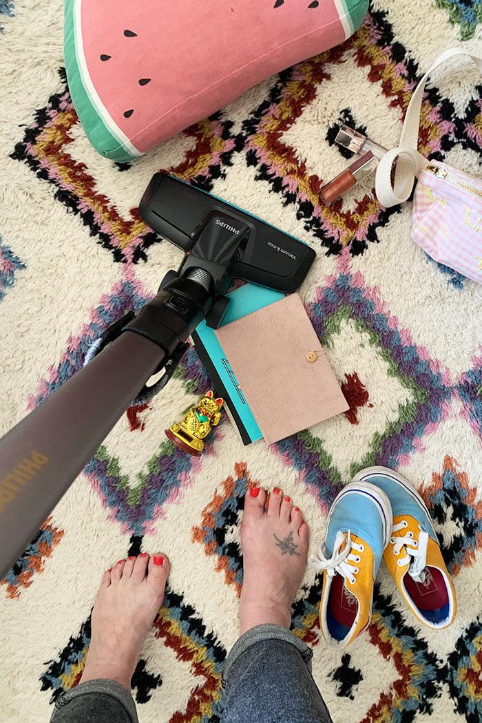 Erfahrungsbericht Philips SpeedPro Max Aqua kabelloser Staubsauger (mit Gewinnspiel) auf Hey Pretty Beauty Blog Schweiz