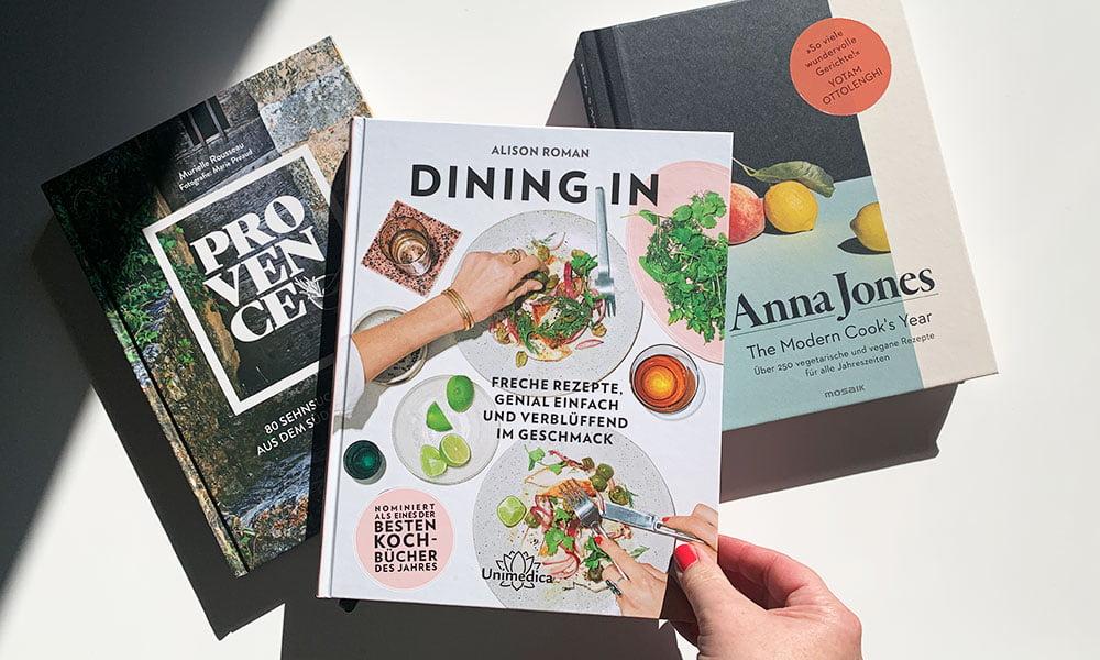 Kochbuch-Review: Provence von Murielle Rousseau, Dining In von Alison Roman und The Modern Cook's Year von Anna Jones (Hey Pretty)