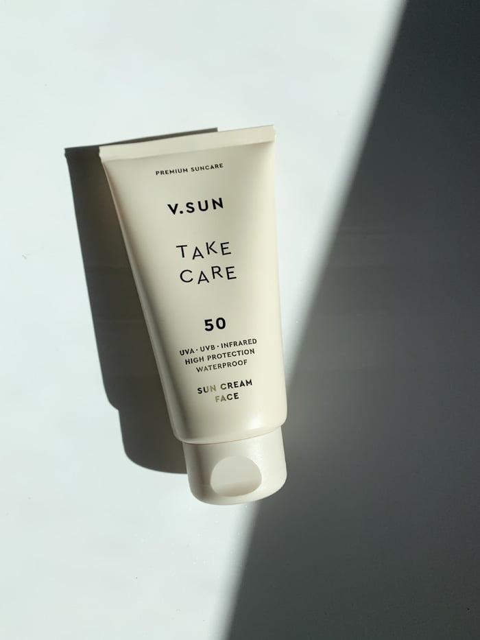 Hey Pretty Review V.SUN Sunscreen Sonnenschutz Sun Cream Face SPF 50