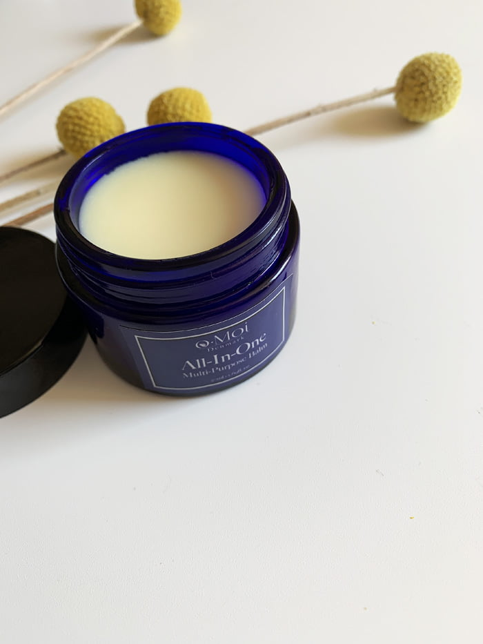 Hey Pretty Review o.Moi Skincare Organic The Curated Skin All-In-One Multi Purpose Balm