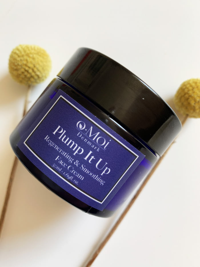 Hey Pretty Review o.Moi Skincare Organic The Curated Skin Plump It Up Regenerating & Smoothing Face Cream