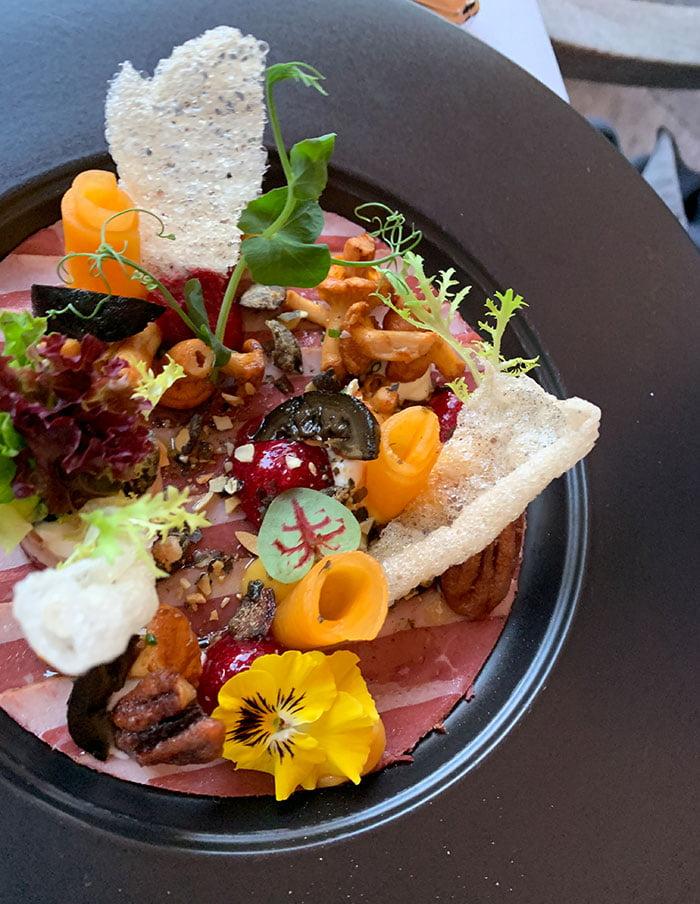 Dinner im Leonard's Restaurant, Le Grand Bellevue Gstaad (Hey Pretty Beauty Blog Erfahrungsbericht)