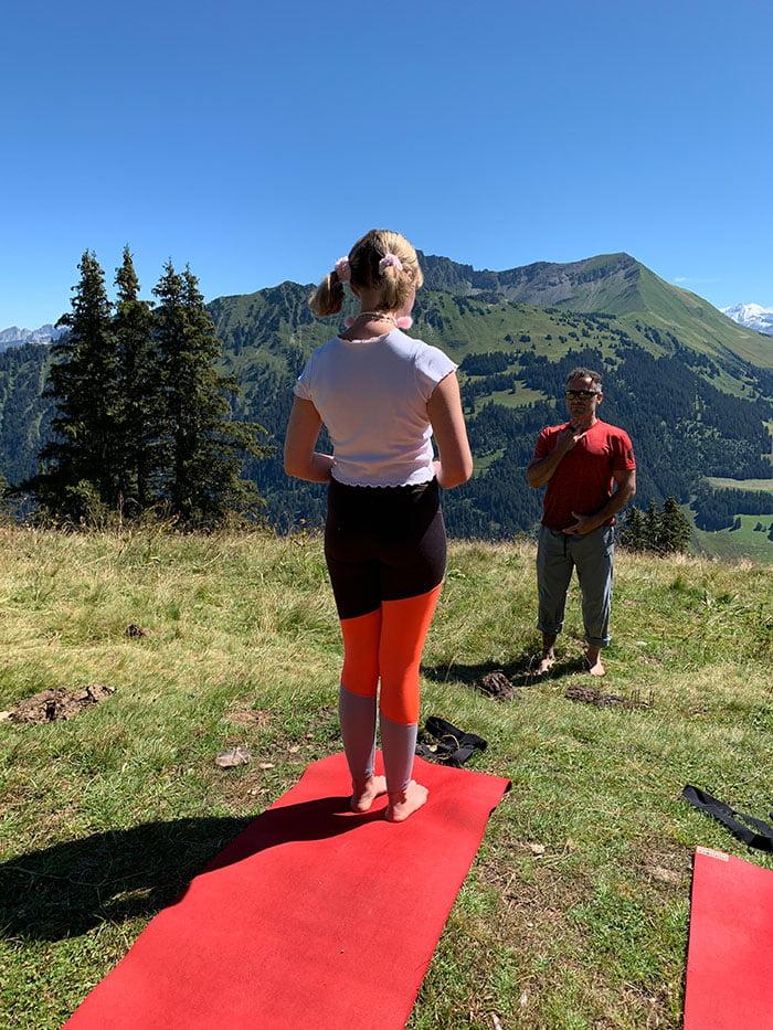 Yoga auf der Wispile mit Dario: Erfahrungsbericht im Le Grand Bellevue Gstaad (Hey Pretty Beauty Blog Spa Review)