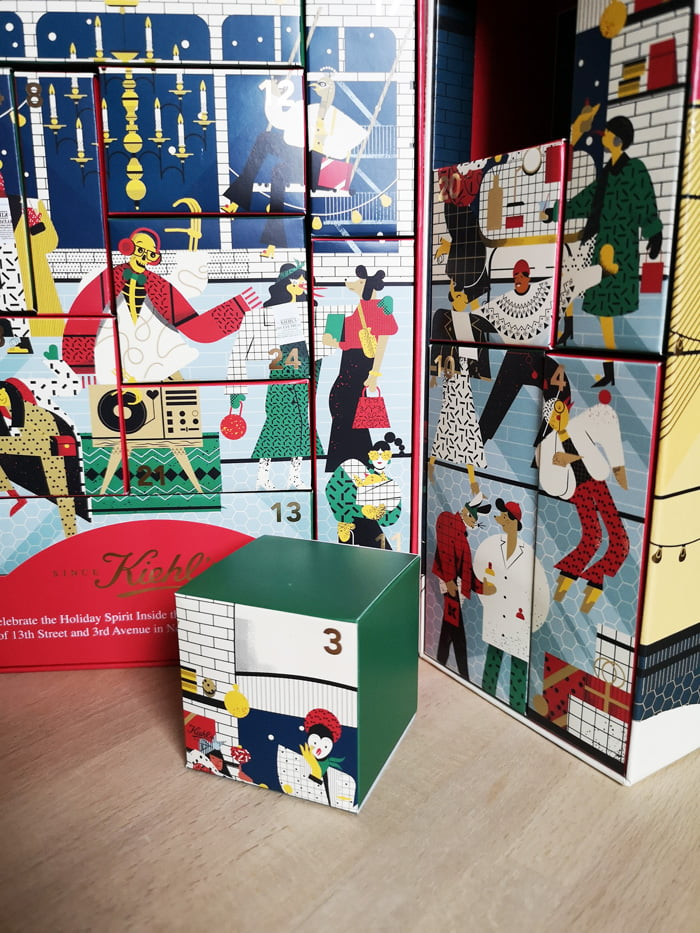 Hey Pretty Review Kiehl's Adventskalender Weihnachten Christmas Limited Edition