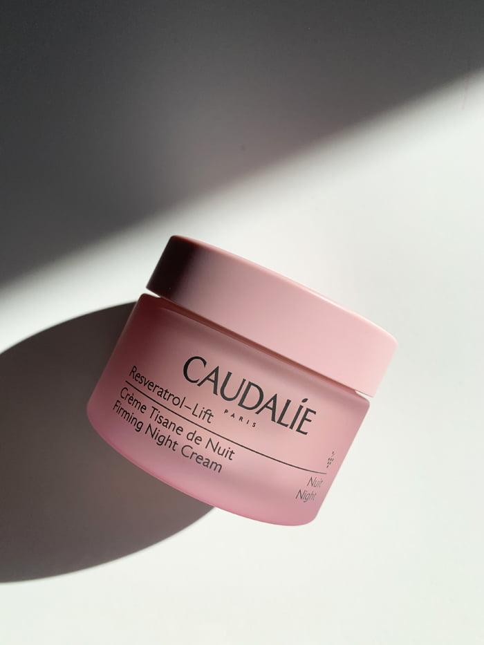 Hey Pretty Review Caudalie Resveratrol-Lift Crème Tisane de Nuit