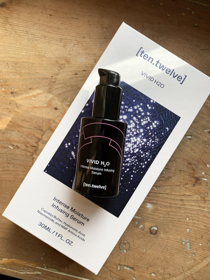 Hey Pretty Review ten.twelve Skincare Serum Vivid H2O