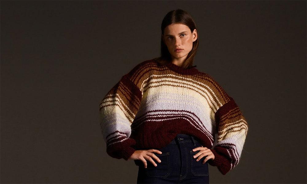 Kuschelmode für den Winter: Hey Pretty Fashion Flash (Image credit: ZARA)