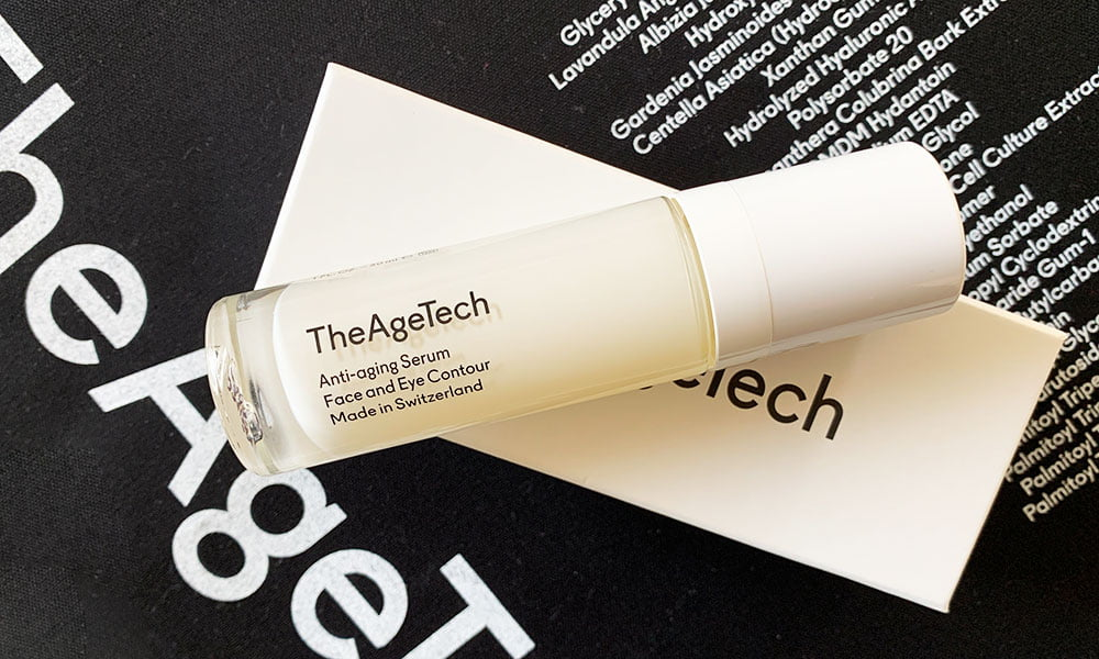 The Age Tech Anti-aging Serum: Made in Switzerland Skincare, die wirkt! Erfahrungsbericht auf Hey Pretty Beauty Blog Schweiz