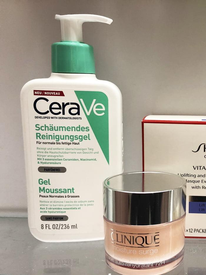 Hey Pretty Show Me Your Badezimmerschränkli Anna von Senger CeraVe Clinique Shiseido Chanel Kiehls