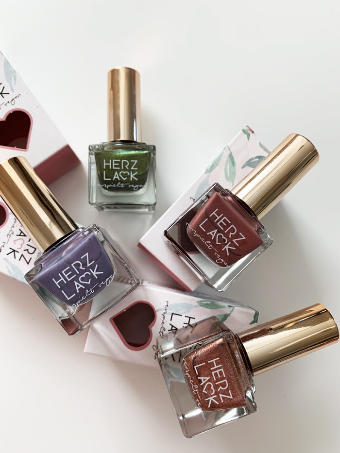 Hey Pretty Review Nagellack Herzlack Herbstspaziergang