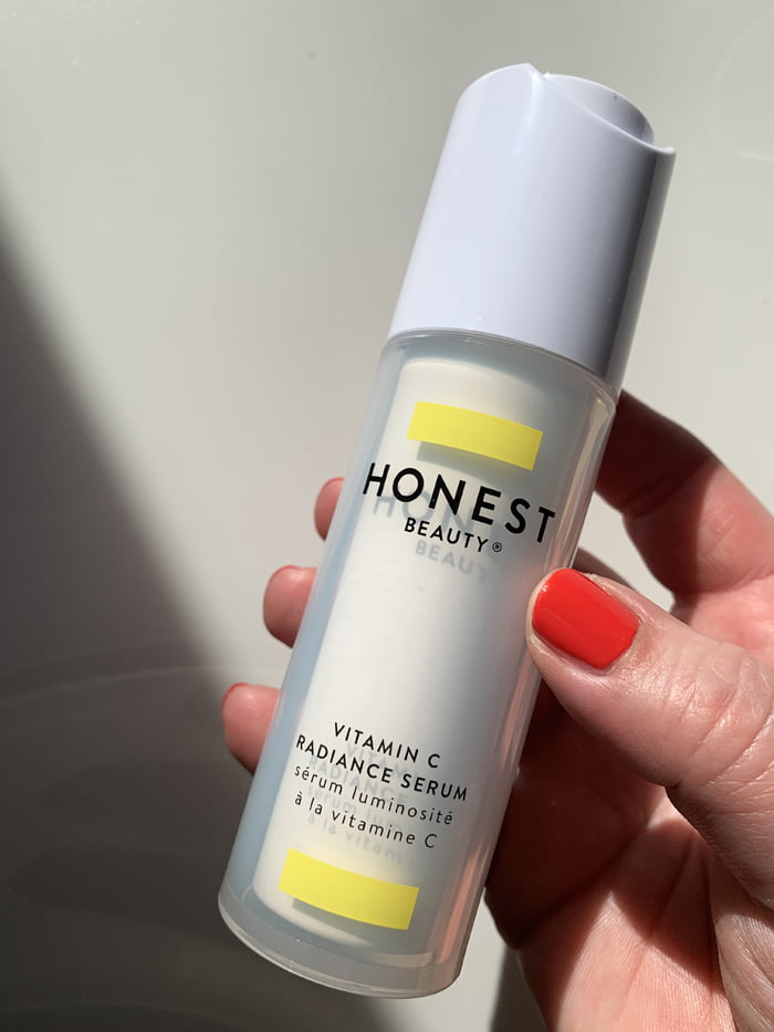 Hey Pretty Review Honest Beauty Skincare Jessica Alba Vitamin C Radiance Serum