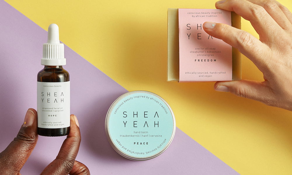 Hey Pretty Review Shea Yeah Freedom Seife Hope Traubenkernöl Peace Hand Balm (Image credit: Nora Dal Cero)
