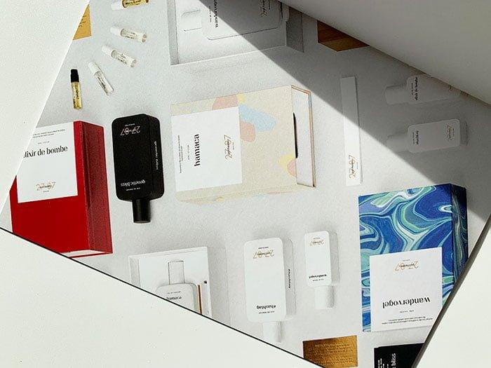 Press Kit von 27 87 Perfumes: Visual von #hashtag Eau de Parfum (Interview mit Romy Kowalewski) auf Hey Pretty Beauty Blog