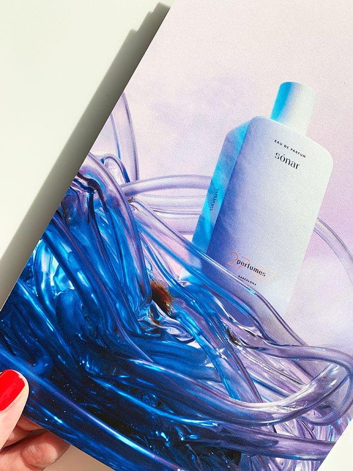 Press Kit von 27 87 Perfumes: Visual von Sonar Eau de Parfum (Interview mit Romy Kowalewski) auf Hey Pretty Beauty Blog Schweiz