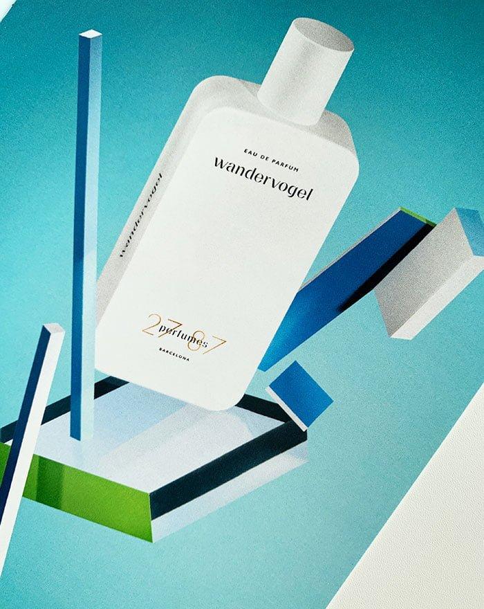 Press Kit von 27 87 Perfumes: Visual von Wandervogel Eau de Parfum (Interview mit Romy Kowalewski) auf Hey Pretty Beauty Blog Schweiz