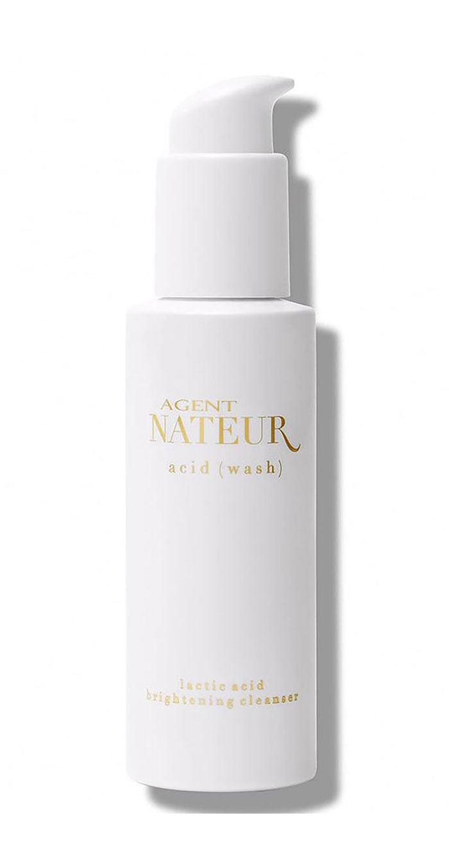 Produkte-Tipps bei Maskne (REINIGUNG): Agent Nateur Acid Wash Lactic Acid Brightening Cleanser – Hey Pretty Beauty Blog