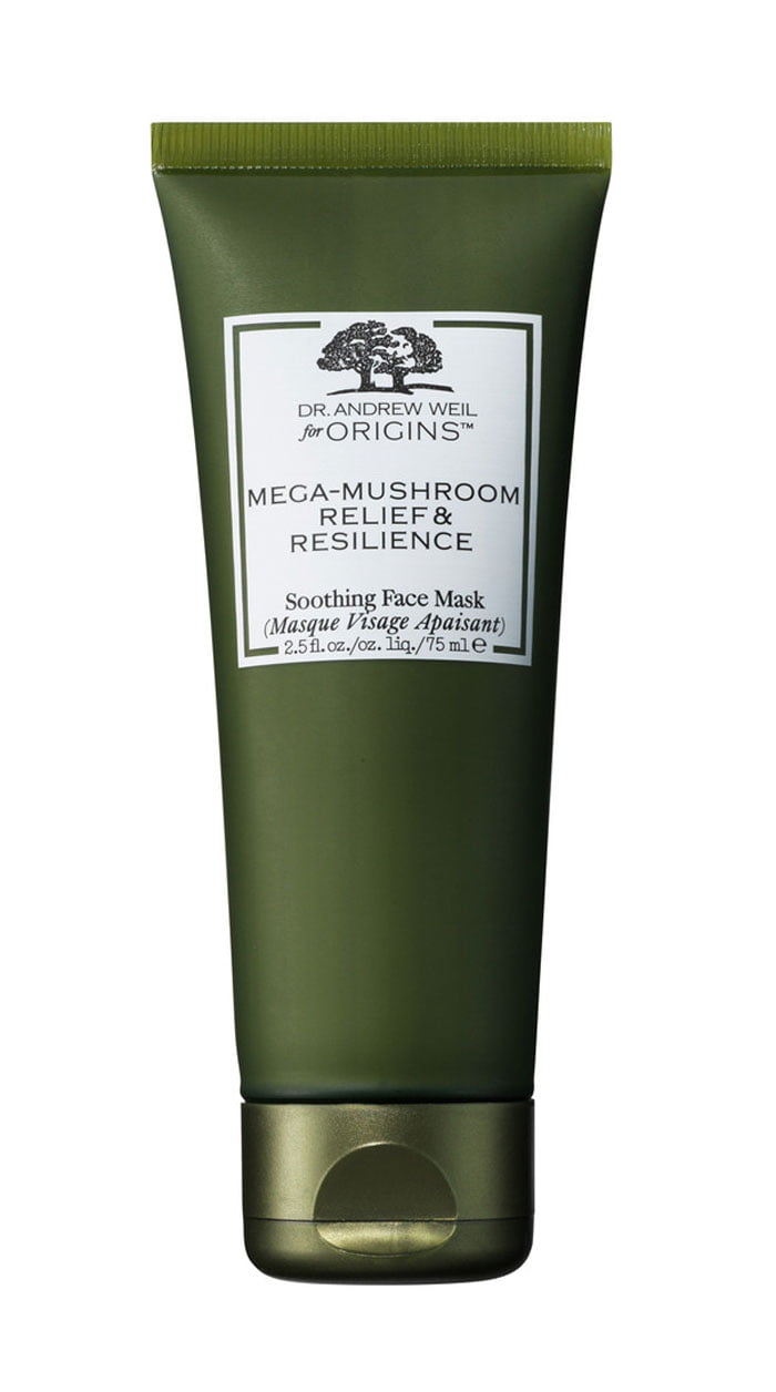 Produkte-Tipps bei Maskne (SOS HELFER): Origins Dr. Weil Mega Mushroom Relief & Resilience Soothing Face Mask – Hey Pretty Beauty Blog