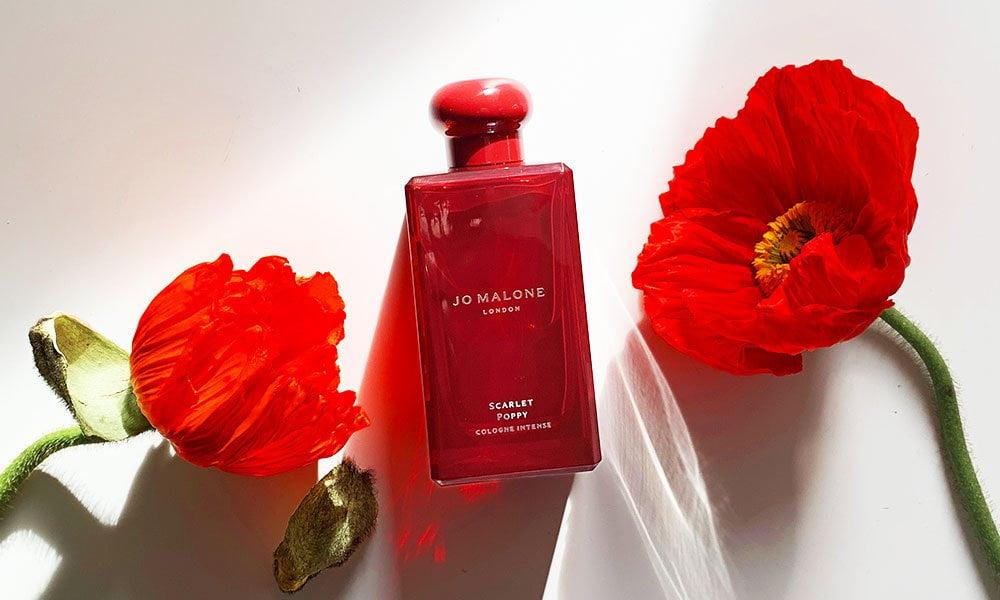 Jo Malone London Scarlet Poppy Cologne Intense (Duftreview und Erfahrungsbericht) auf Hey Pretty Beauty Blog Schweiz