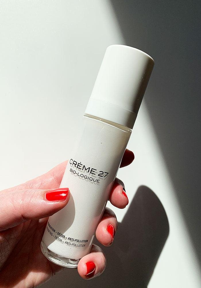 Cosmetics 27 CREME 27 Anti-Pollution Feuchtigkeitspflege (Erfahrungsbericht und Interview mit Gründerin Michèle Evrard auf Hey Pretty Schweiz)