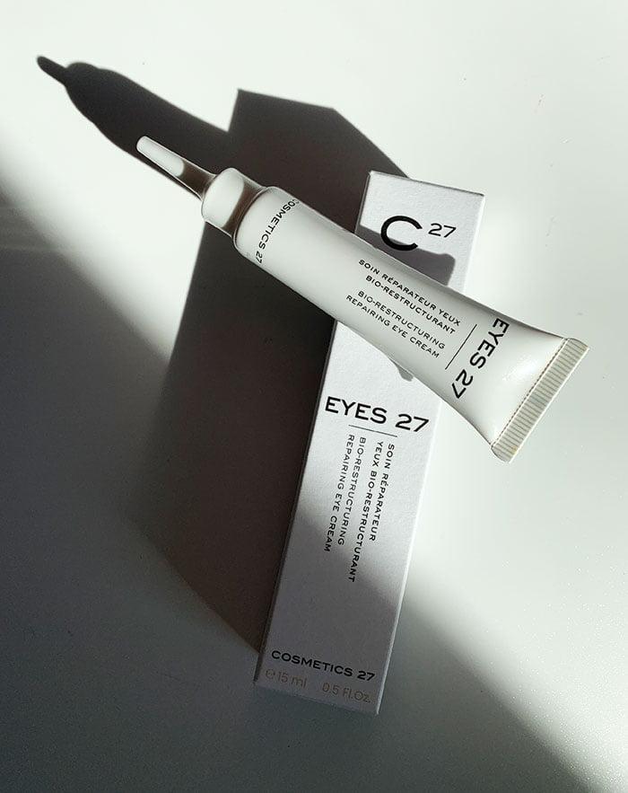 Cosmetics 27 EYES 27 Anti-Pollution Feuchtigkeitspflege (Erfahrungsbericht und Interview mit Gründerin Michèle Evrard auf Hey Pretty Schweiz)