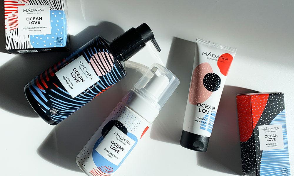 Madara Ocean Love Pflegeprodukte –Erfahrungsbericht der Limited Edition-Kollektion auf Hey Pretty Schweiz