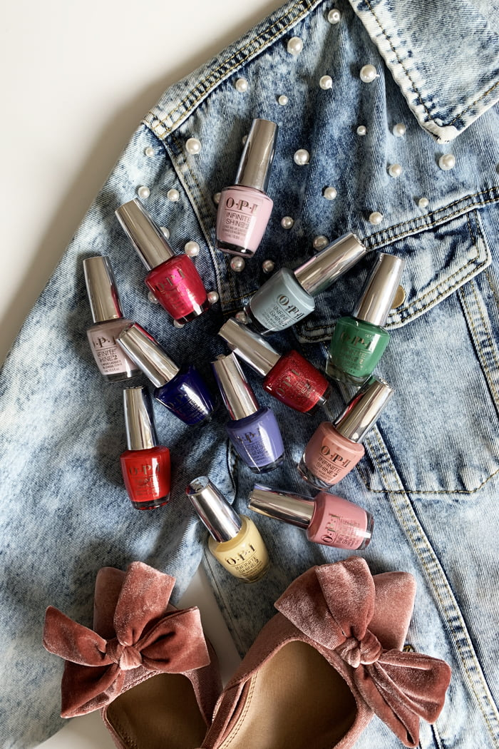 Hey Pretty Beauty Blog Review OPI Hollywood Collection Spring/Summer 2021 Nail Polish Infinity Shine Swatches