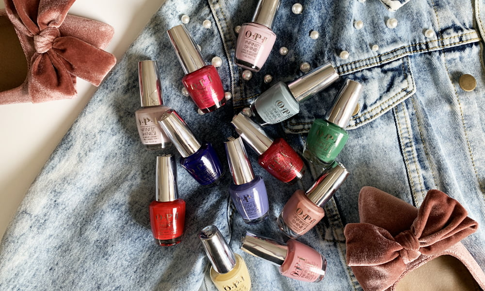 Hey Pretty Beauty Blog Review OPI Hollywood Collection Spring/Summer 2021 Nail Polish Infinite Shine