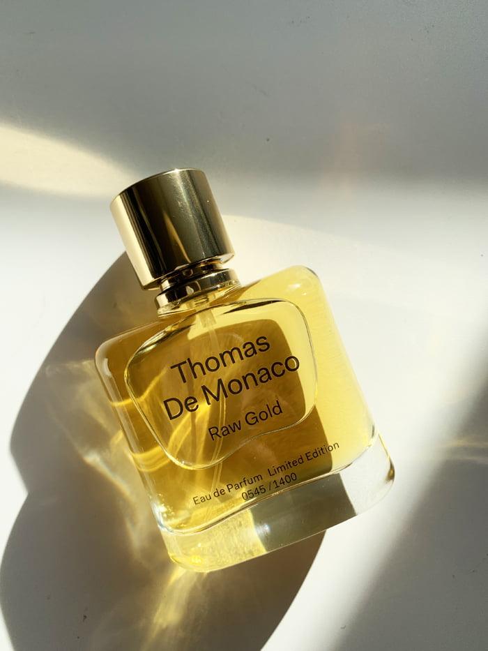 Thomas de Monaco Raw Gold Eau de Parfum Limited Edition