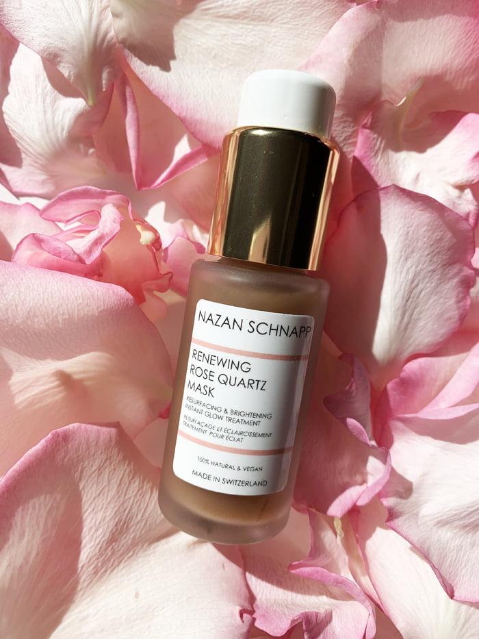 Hey Pretty Beauty Blog Review Kultkosmetik Rose Nazan Schnapp Renewing Rose Quartz Mask