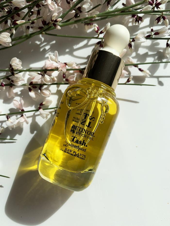 Hey Pretty Beauty Blog Review Tash Sisterhood Raw Plants Skincare by Sweden Retinoil Bakuchiol
