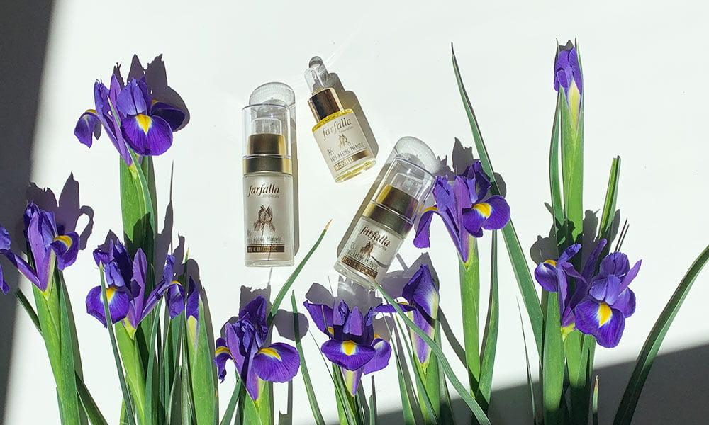 Farfalla Iris Anti-Ageing Prebiotic Pflegelinie für die reife Haut: Erfahrungsbericht und Gewinnspiel auf Hey Pretty Beauty Blog Schweiz