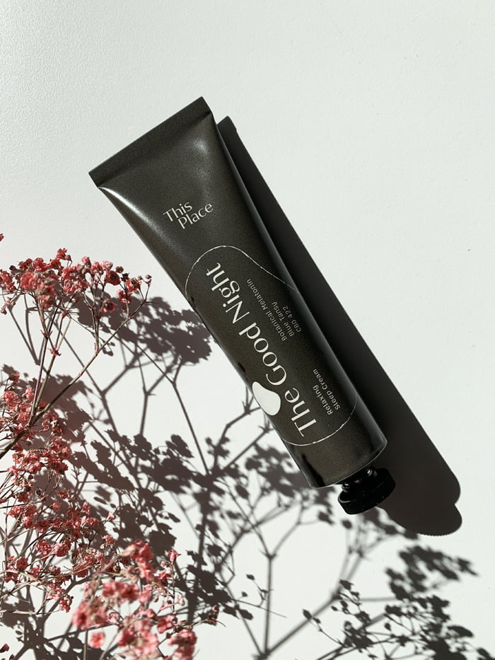 Hey Pretty Beauty Blog Review This Place CBD Skincare Wellbeing The Good Night Sleep Cream