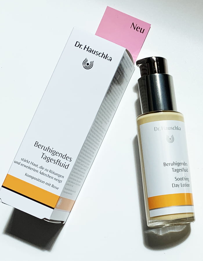 Hey Pretty Beauty Blog Review Dr. Hauschka Tagesfluids Beruhigendes Tagesfluid