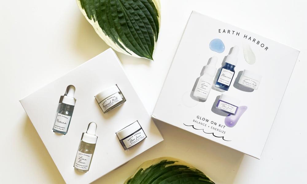 Hey Pretty Beauty Blog Gewinnspiel BioBeautyBoutique Earth Harbor Glow On Kit