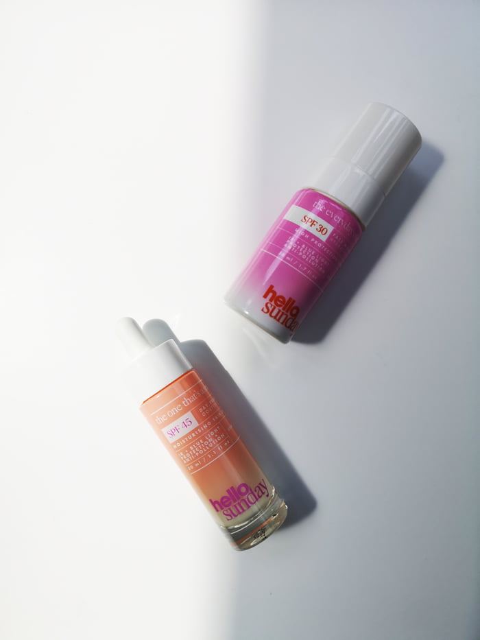 Hey Pretty Beauty Blog Review Hello Sunday Sunscreen SPF The Everyday One The One Thats A Serum
