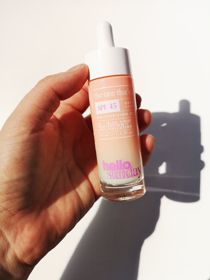 Hey Pretty Beauty Blog Review Hello Sunday Sunscreen SPF The One Thats A Serum