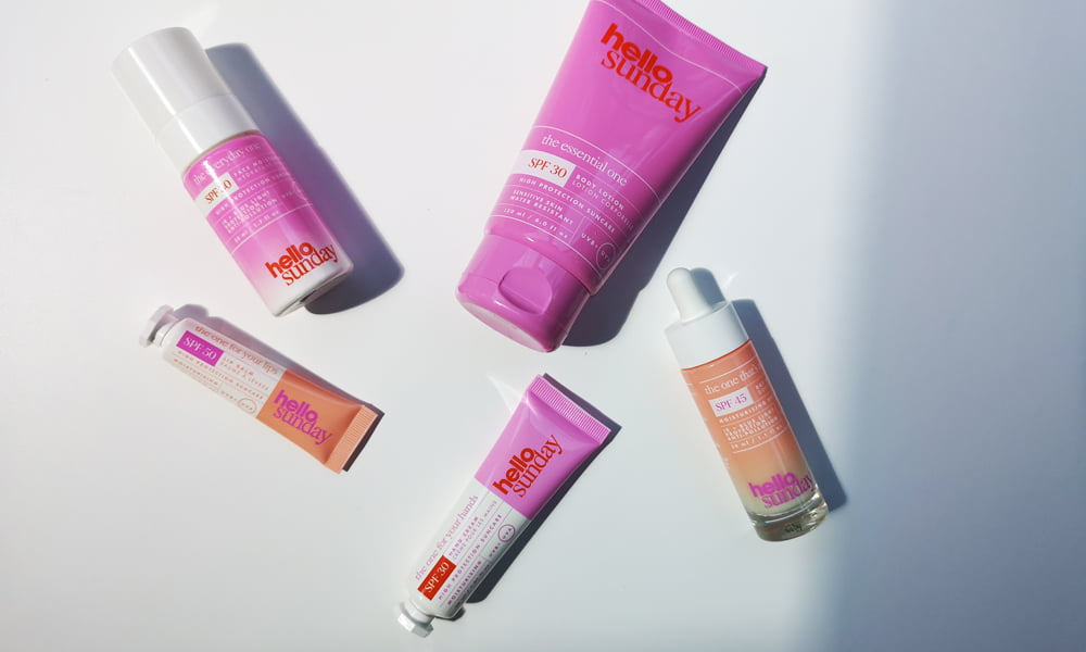 Hey Pretty Beauty Blog Review Hello Sunday Sunscreen SPF