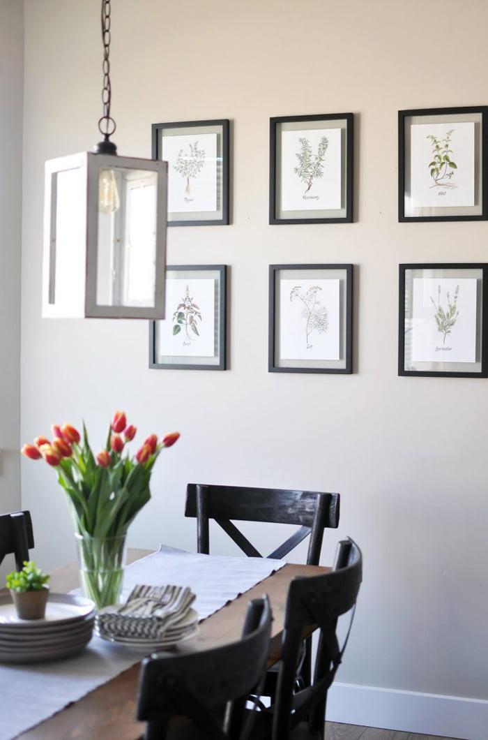 Spring Herbs Printables von Cherished Bliss (Neue Wall Art zum gradis downloaden und ausdrucken – Free Printable Wall Art 2021) –Hey Pretty Beauty Blog Schweiz