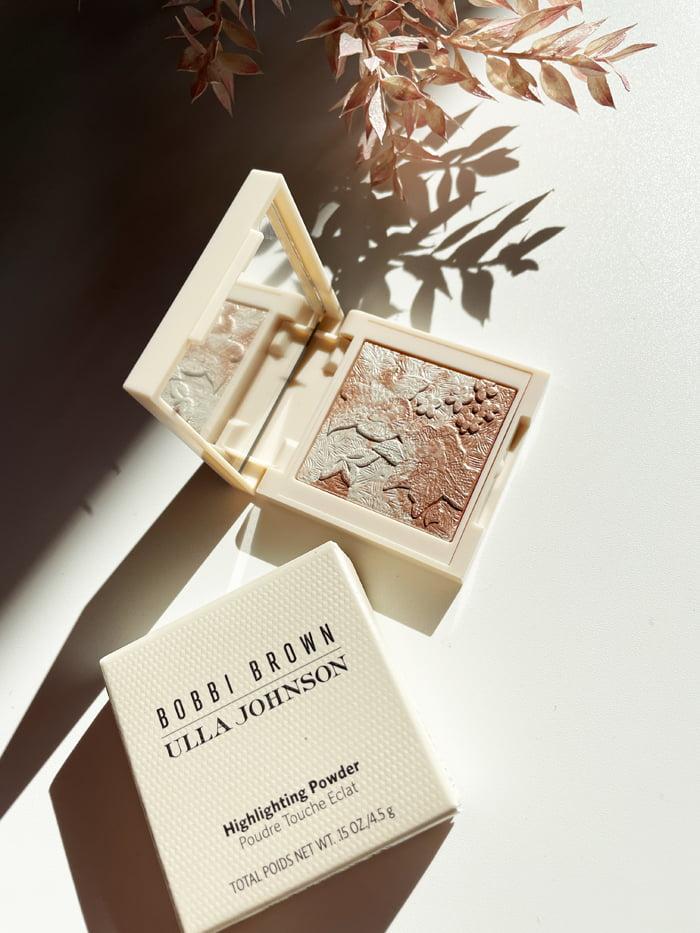 Hey Pretty Beauty Blog Review Bobbi Brown Ulla Johnson Highlighting Powder Mini